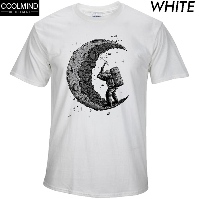Digging Moon T-shirt 2