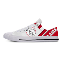 AFC Ajax Amsterdam Lightweight FC Soccer Fans Fashion Men/Women Football Culb Breathable Shoes Casual Classic Canvs Sneakers