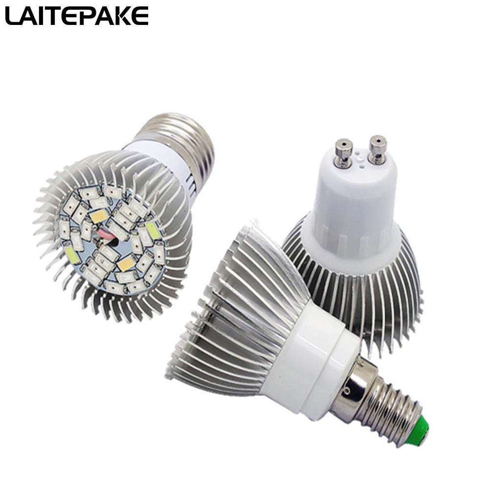 18/28/40/78/120 Leds Phyto Led Hydroponic Growth Light E27 E14 GU10 Grow Bulb  Full Spectrum UV IR Lamp Plant Seedling Fitolamp
