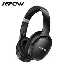Mpow H10 HiFi סטריאו מוסיקה אוזניות רעש ביטול אוזניות על אוזן 25H זמן משחק אלחוטי Bluetooth אוזניות עם מיקרופון