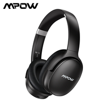 Mpow H10 HiFi стерео музыкальные наушники с шумоподавлением, наушники над ухом 25 H, время воспроизведения, беспроводные Bluetooth наушники с микрофоном