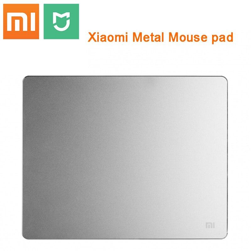 Новинка, 100% оригинал, Xiaomi mijia, смарт-коврик для мыши, металлический коврик для мыши, тонкий алюминиевый коврик для мыши, матовые коврики для м...