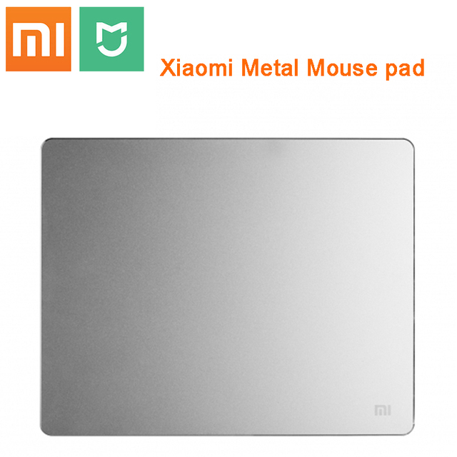 Xiaomi alfombrilla de ratón inteligente mijia, 100% Original, de Metal, delgada de aluminio, mate esmerilado para oficina