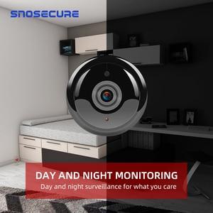 Image 4 - SNOSECURE MINI cámara IP de almacenamiento en la nube WIFI Smart Home 1080P, inalámbrica, visión nocturna, detección de movimiento, Audio bidireccional