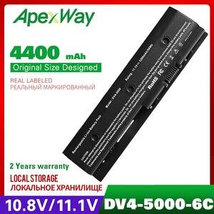 Image 1 - 4400mah 11.1v סוללה למחשב נייד עבור HP Pavilion DV4 5000 M6 HSTNN DB3P HSTNN UB3N 671731 001 671567 831 HSTNN YB3N 671731 001 MO06