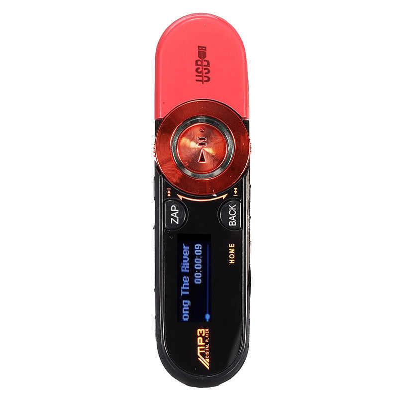 8 ギガバイト USB ディスクペンドライブ USB 液晶 MP3 プレーヤーレコーダー FM ラジオミニ SD/TF