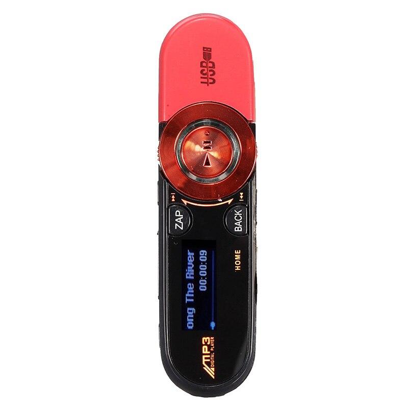 8GB USB Disk Pen Drive USB LCD MP3 Player Recorder FM Radio Mini SD / TF