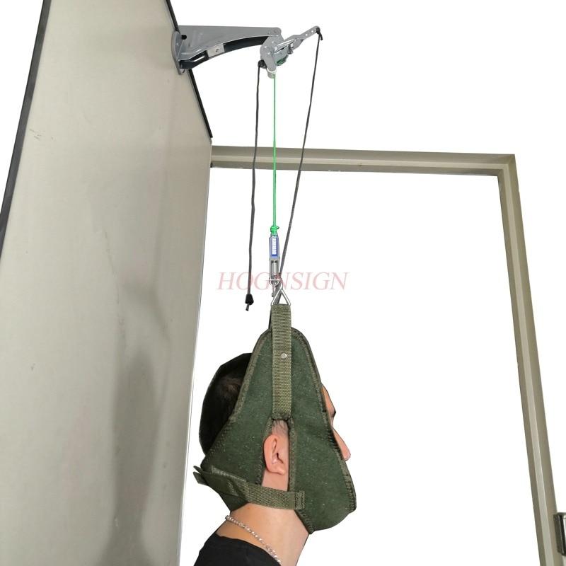 Green Canvas Door suspension cervical traction frame sling cervical traction device home cervical spondylosis stretcher neck