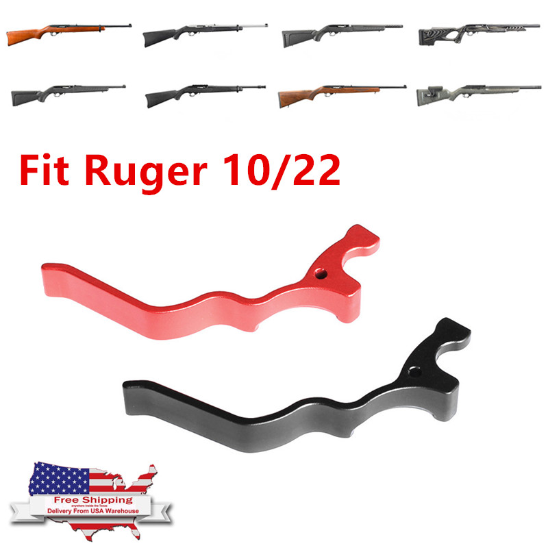 Bugleman Extended Extra Large Magazine Release Mag For Ruger 10/22 XL Lever