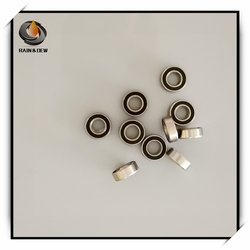 SMR126RS Anti-rust Bearing ABEC-7 (10PCS) 6x12x4 mm Miniature SMR126 - 2RS Ball Bearings Black Sealed