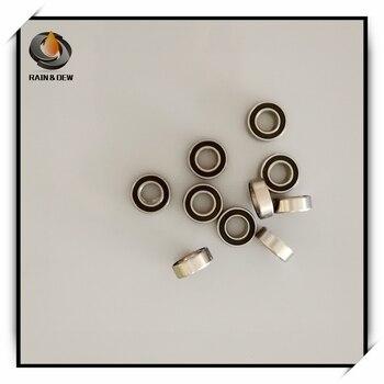SMR126RS антикоррозийный подшипник ABEC-7 (10 шт.) 6x12x4 мм миниатюрные SMR126 - 2RS шарикоподшипники черные герметичные