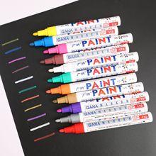 Paint pens color markers oily pens lacquer pens DIY photo albums graffiti pens quick-dry writing pens Shipping mark pen hen s pens