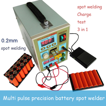 2 sets SUNKKO 788H spot welder machine 18650 lithium battery pack production spot welding and DC charging function Pulse pulse production technology