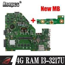 Akemy i3-3217 X550CC Motherboard CPU 4GB GT720M 2GB Para For Asus X552C R510C R510C X550CC Y582C laptop Mainboard Mainboard