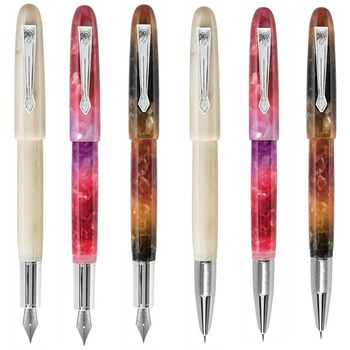 1Pc Jinhao 200 Acrylic Fountain Pen Ink Pen Fine Nib Silver Clip Business Office school supplies Writing Pens Gift liy resin fountain pen ink pen fine nib converter filler golden clip stationery office school supplies writing pens gift