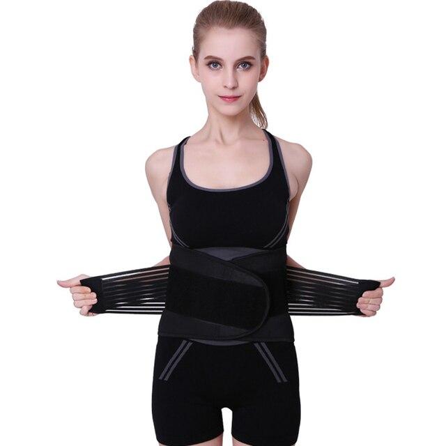 Women Adjustable Elstiac Waist Support Belt Neoprene Faja Lumbar Back Sweat Belt Fitness Belt Waist Trainer Heuptas For Sports 1