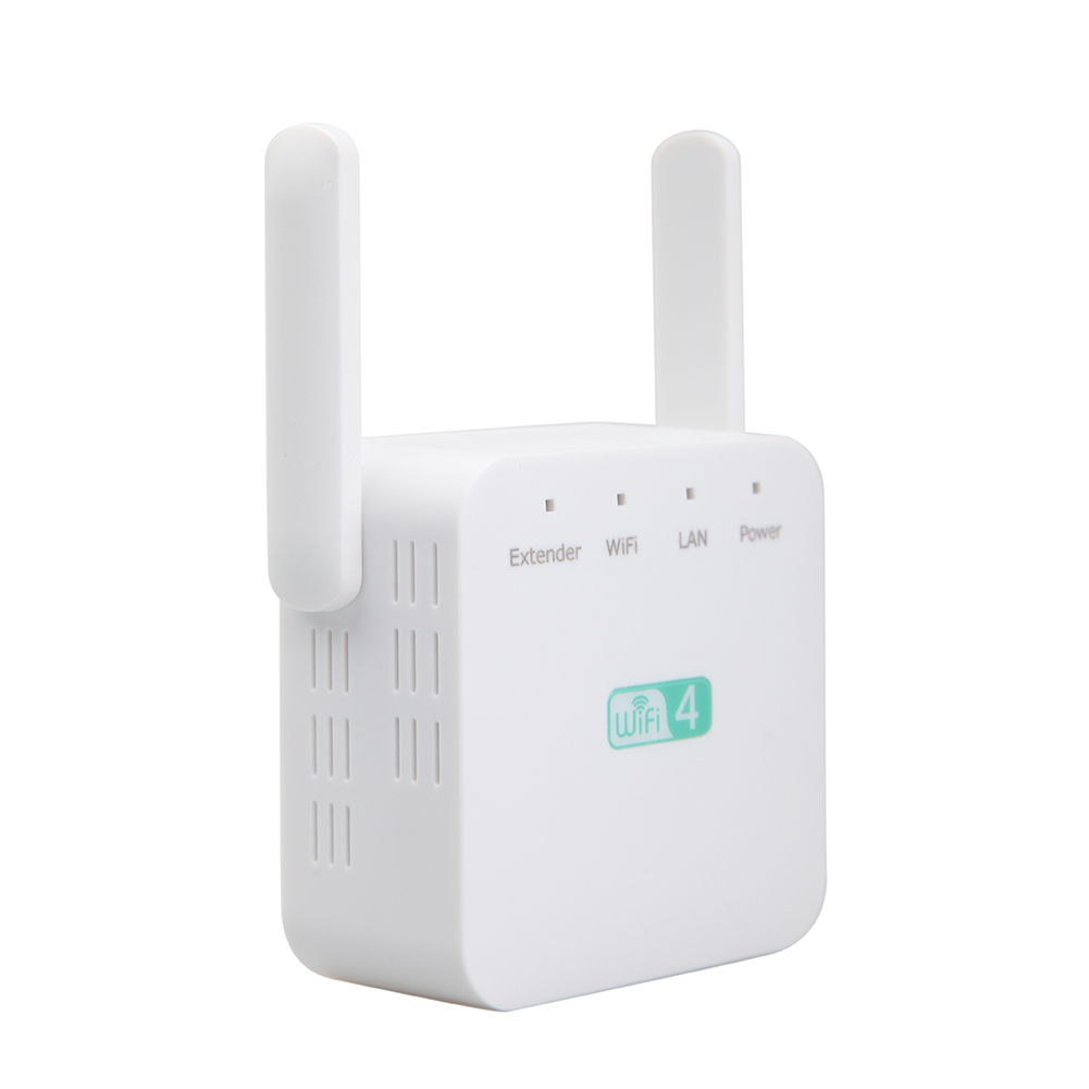 300Mbps Range Extender Network Wireless 2.4GHz Home Office Universal Portable ABS Router Access Point Signal Booster Accessories
