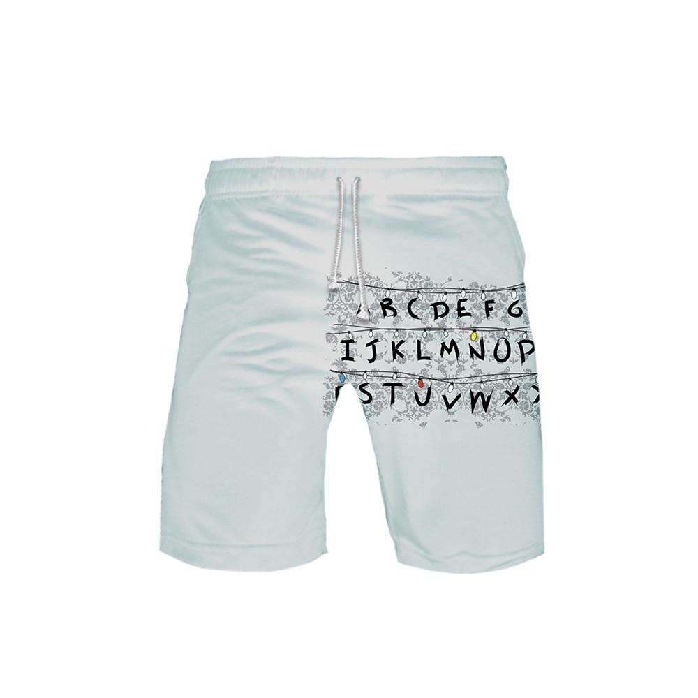 Stranger Things 3D Printed Beach Shorts Men Fashion Streetwear Shorts New Arrival Hot Sale Casual Streetshirt Summer Wear