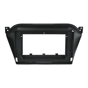 Image 3 - 2Din Car DVD Frame Audio Fitting Adaptor Dash Trim Kits Facia Panel 10.1inch For JAC S2 2015 2018 Double Din Radio Player