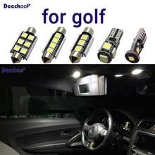 Pure White Fehler kostenloser Auto Led lampen für Volkswagen für VW Golf 2 3 4 5 6 7 MK2 MK3 MK4 MK5 MK6 M7 innen karte dome licht kit