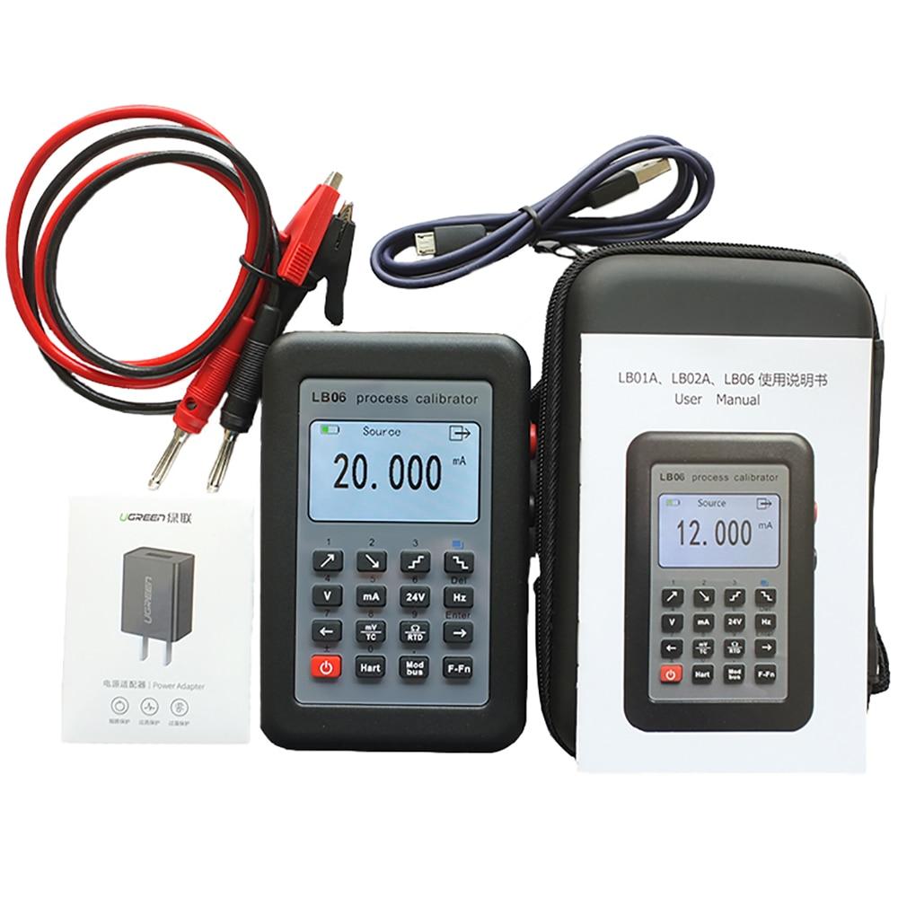 Free Shipping HART Modbus 4-20mA Signal Generator / 0-10V / MV / Thermocouple / Current Voltage Source Calibration