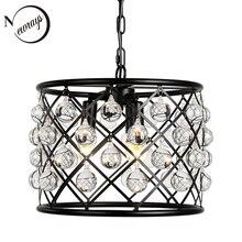 Lámpara colgante decorativa de cristal Industrial retro E14 para sala de estar, dormitorio, iluminación interior, loft, cocina, luz colgante para hotel