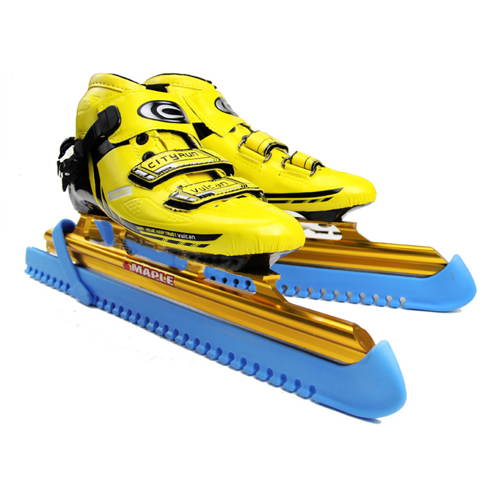 1 Pair Elastic Skate Shoes Cover Ice Knife Blade Protective Length Adjustable Skate Guard Speed/Figure Skate Shoes Protector