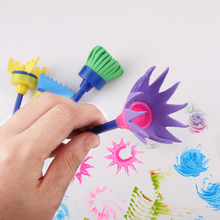 Paint-Brushes Toys Sponge Children DIY Gift for Stamps Painting Drawing Graffiti Creative