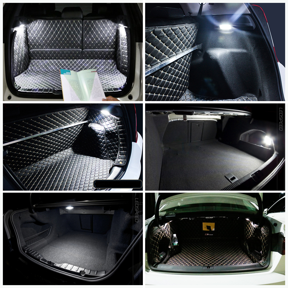 Super bright LED Luggage Compartment Trunk Light Lamp For Kia Magentis Sportage Ceed Optima Cerato Sportage Grandeur Rio Forte in Signal Lamp from Automobiles Motorcycles