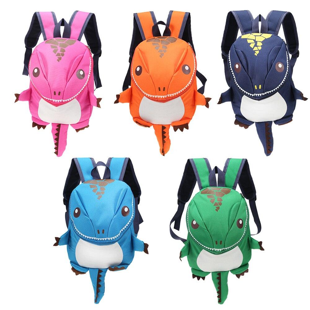 3D Dinosaur Backpack For Boys Girls Lightweight Waterproof Children Backpack Kids Kindergarten Animal Large Capacity School Bags
