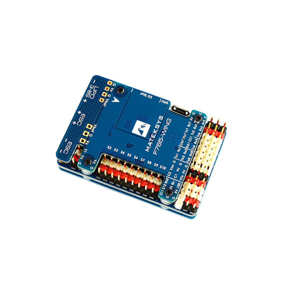 Matek Systems F765-WING F765 STM32F765VI Flight Controller Built-in OSD  For RC Airplane Fixed Wing RC Models