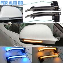 2Pcs Hot Richtingaanwijzer Voor Audi A8/S8 D3 Dynamische Led Side Wing Spiegel Sequentiële Indicator Blinker lamp 2008 2010