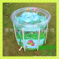 Manufacturer Brand wen quan bao Baby Swimming Pool Inflatable Support Pool Transparent Children's Pool Currently Available Whole
