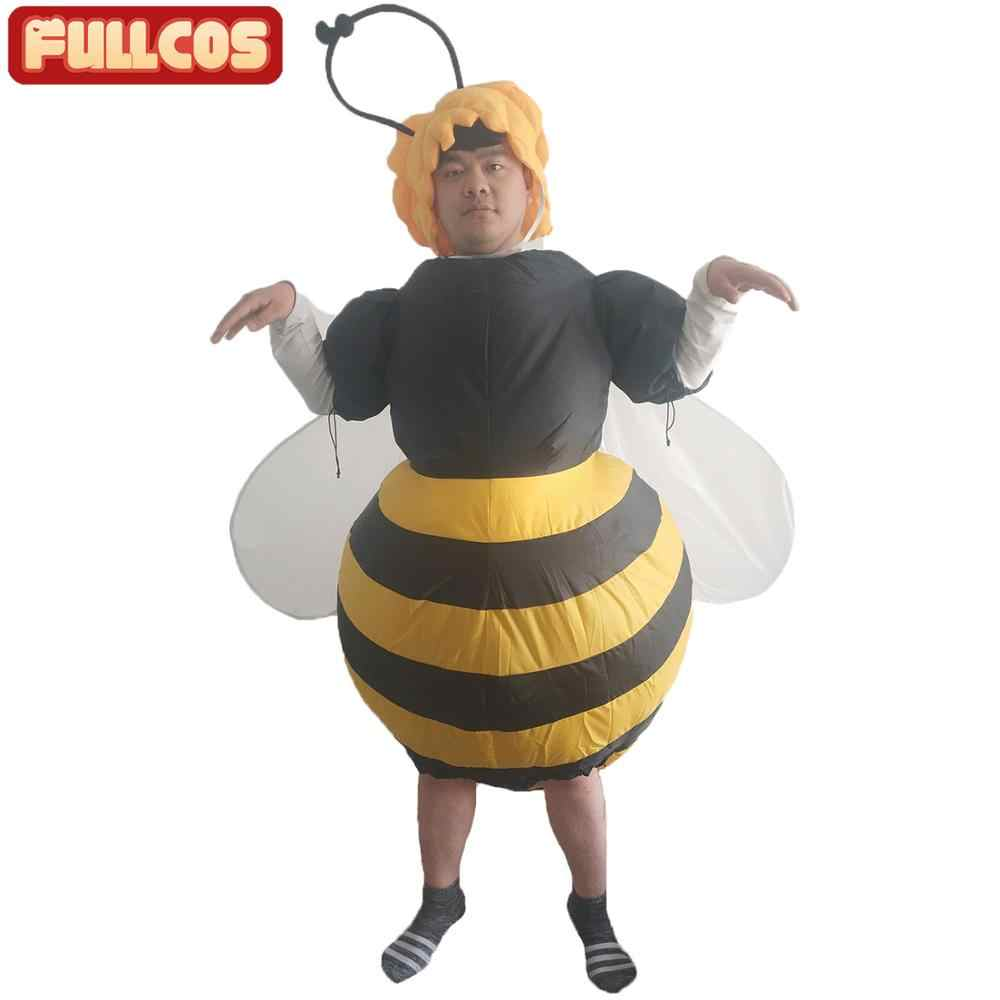 2019 Hot Bumble Bee Inflatable Costume Parade Mascot Airblown Honey Bee Outfit