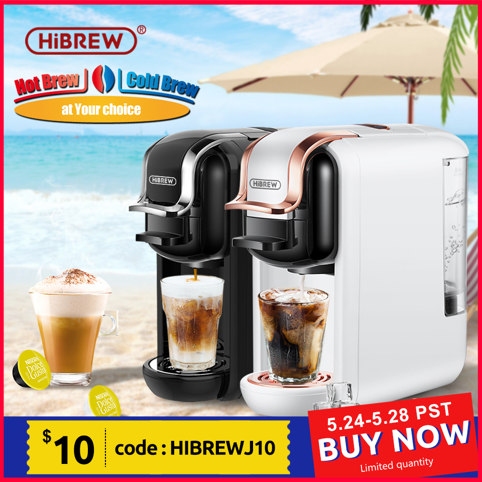 Coffee Machine Hot/Cold 4in1