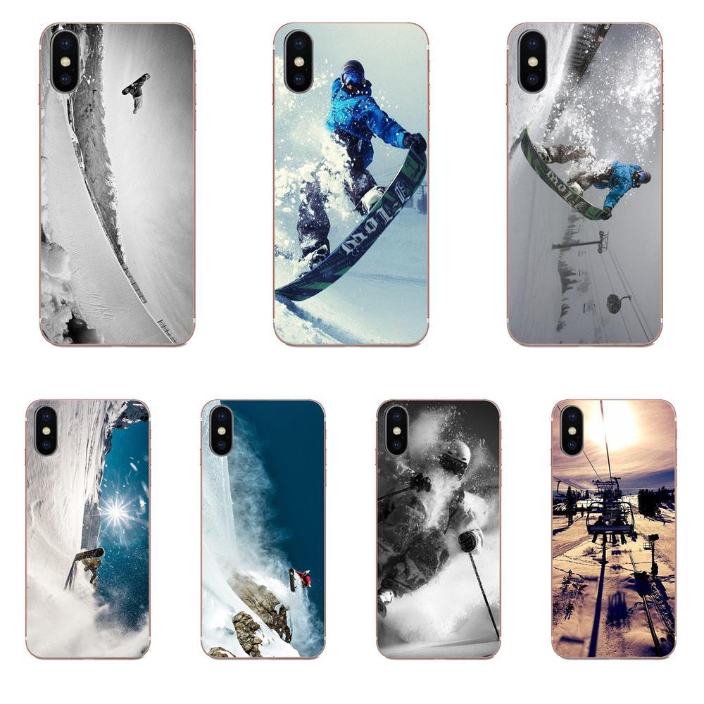 Snow Or Die Ski Snowboard Sport For Galaxy Alpha Note 10 Pro A10 A20 A20E A30 A40 A50 A60 A70 A80 A90 M10 M20 M30 M40 Case