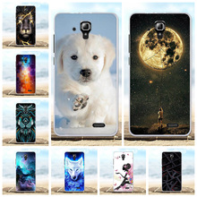 For Lenovo A536 A358T Cover Ultra-slim Soft TPU Silicone A 536 Case Girl Patterned Shell Capa