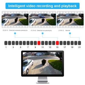 Image 4 - DEFEWAY H.265 + 8CH 5MP POE NVR نظام الكاميرا الأمنية عدة 4 قطعة 2MP IP كاميرا في الهواء الطلق مقاوم للماء CCTV المراقبة بالفيديو NVR مجموعة