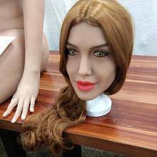 Real TPE sex doll head ,Oral Sex Dolls Head ,Silicone Sex Doll realistic Robot love dolls
