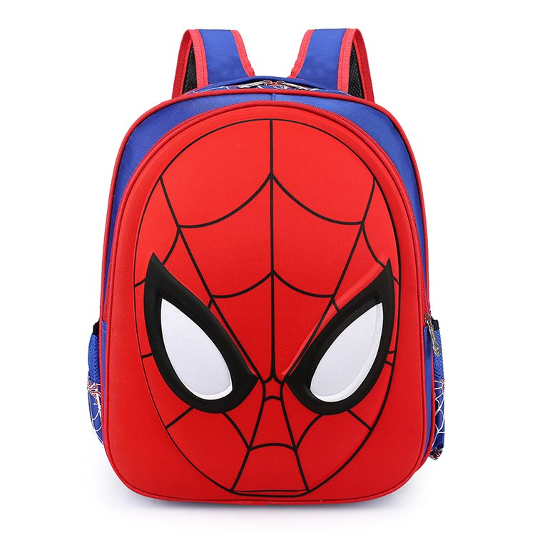 School-Bags Backpacks Knapsack Spiderman Waterproof Kids Boys For Child 3D Satchel 3-6-Year-Old