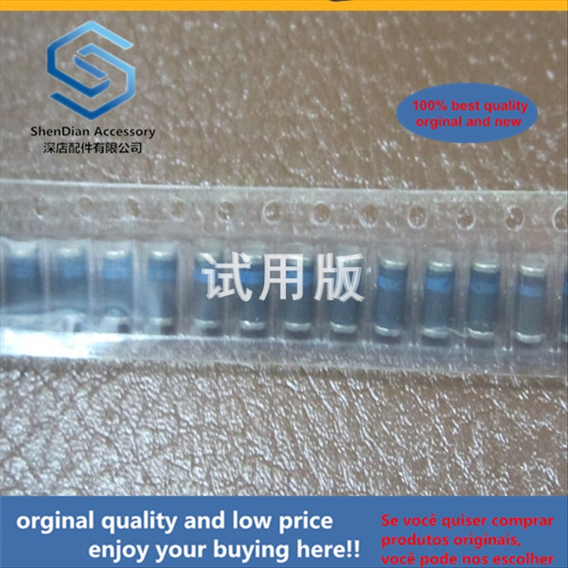 50pcs 100% Orginal New Best Quality Schottky Diode SM5818 DL5818 LL5818 Cylindrical Patch LL41 DO-213AB