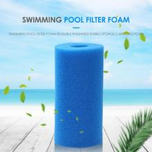New Foam Filter Swimming Pool Reusable Washable Bubble Sponge Cartridge Cleaning Accessories