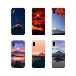 Чудеса природы вулкан аксессуары телефон оболочки чехлы для Huawei Y5 Y6 Y7 Y9 Prime Pro GR3 GR5 2017 2018 2019 Y3II Y5II Y6II