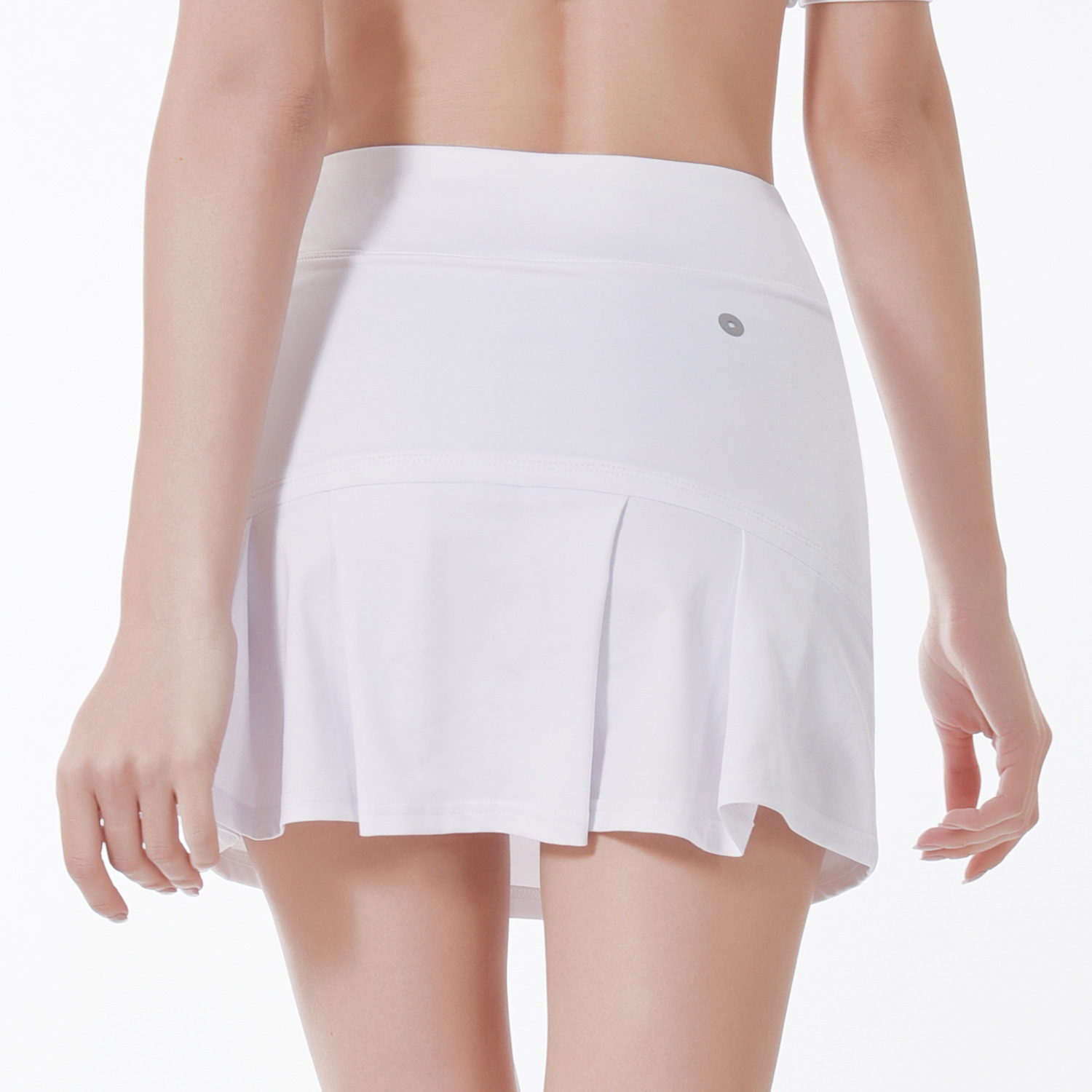 2019 New Fake Two-piece Sports Skirt Pants Invisible Pocket Quick-dry Lady Anti-naked Body Repair Bag Buttocks Skirt Pants