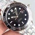 Luxe Merk Mens Mechanische Professionele 300m 007 Automatische Designer Horloge mannen Mannen Horloges self-wind horloges aaa horloges