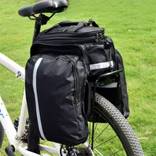 MTB Bicycle Carrier Bag Rear Rack Bike Trunk Bag Luggage Pannier Back Seat Double Side Cycling Bycicle Bag Durable Travel
