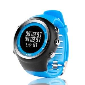 Image 3 - Top Merk Ezon T031 Oplaadbare Gps Timing Horloge Running Fitness Sport Horloges Calorieën Teller Afstand Tempo 50M Waterdicht