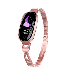 New Arrival F18 Smart Watch Bracelet Fitness Tracker IP68 Waterproof Smart Bracelet Reminder Sleep Monitoring Exercise Step for