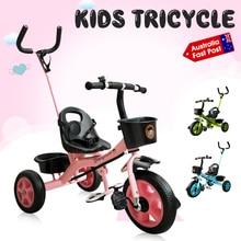 Kids Child Tricycle Bicycle Children 3 Wheel Trolley Kindergarten Kids Ride On Bike Toddler Trike Walker for 1-6 Years Old Kid