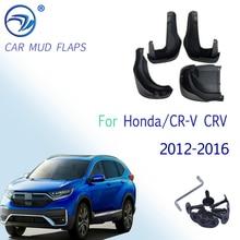 Car Mud Flaps Splash Guards Mudguards Mudflaps for Fender Accessories For Honda/CR V CRV 2012 2013 2014 2015 2016